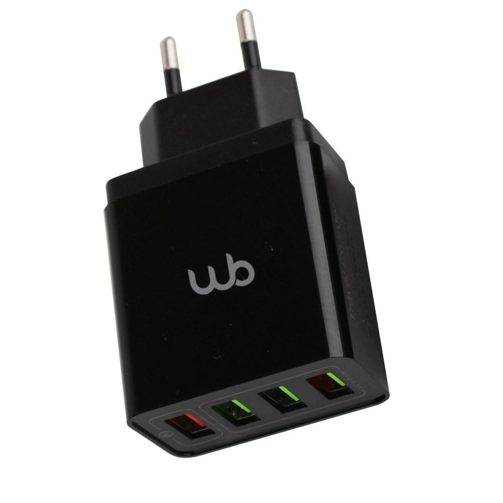 Carregador WB 4 Portas USB - Ultra Rápido Qualcomm 3.0