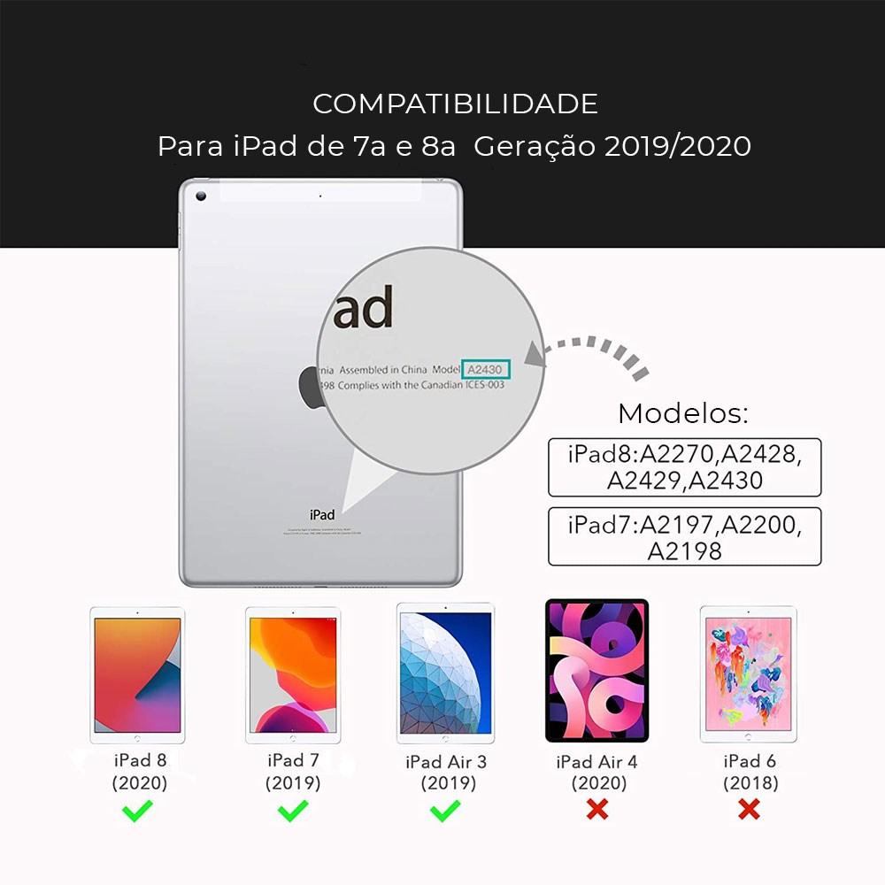 """Película de iPad 7a e 8a Geração com 10.2"""" Polegadas Paperlike"""