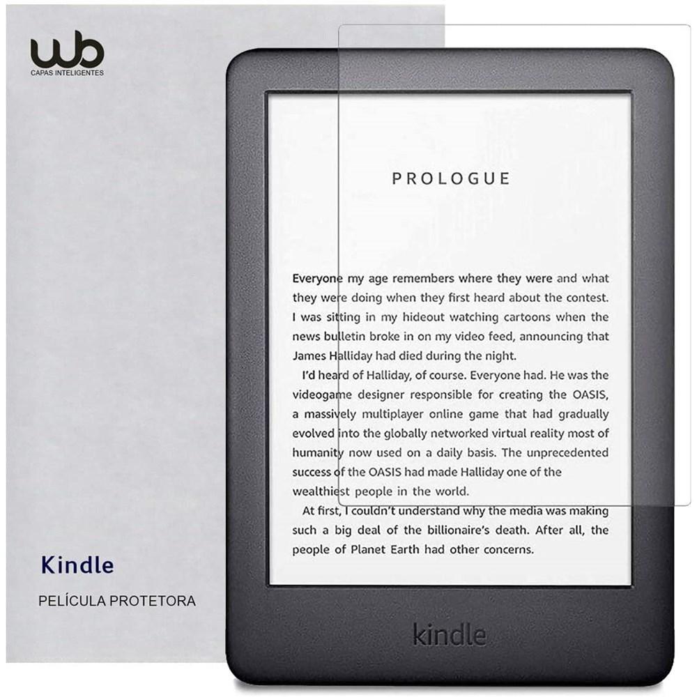 Película Novo Kindle 10a. Geração WB® - Fosca Anti-Risco Anti-Poeira Anti-Uv
