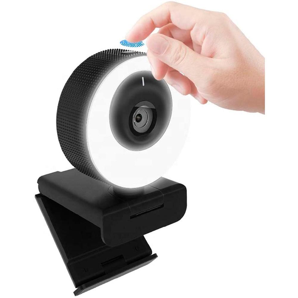 Webcam WB PRO Ring Light 60 FPS Full HD 1080p